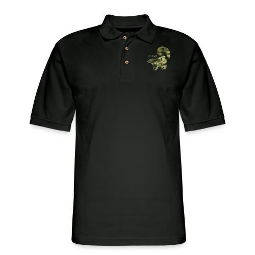 HAWAIIAN SKUNK.png - Men's Pique Polo Shirt