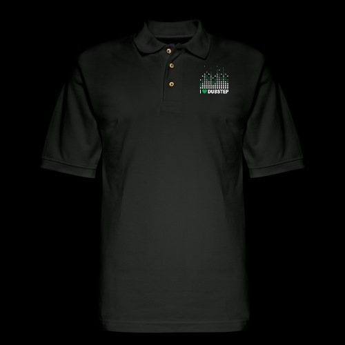 I heart dubstep - Men's Pique Polo Shirt