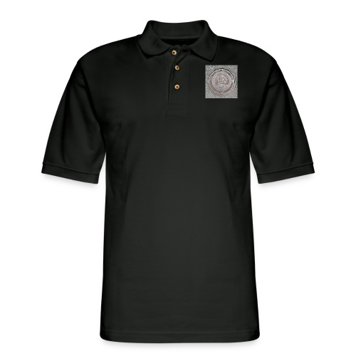 Sewer Tee - Men's Pique Polo Shirt