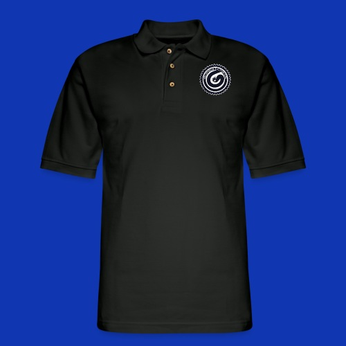 Gorgon logo Black - Men's Pique Polo Shirt