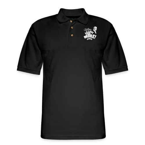 Perhaps I Love You More (Light) - Men's Pique Polo Shirt