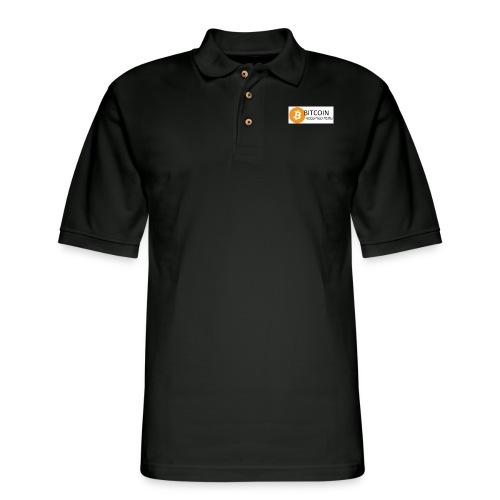 BTC accepted here - Men's Pique Polo Shirt