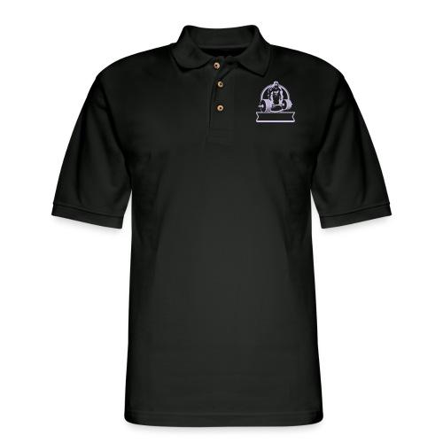 Gorilla Beast - YOUR NAME - Men's Pique Polo Shirt