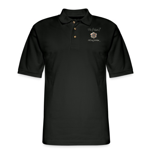 The Future not my problem - Men's Pique Polo Shirt