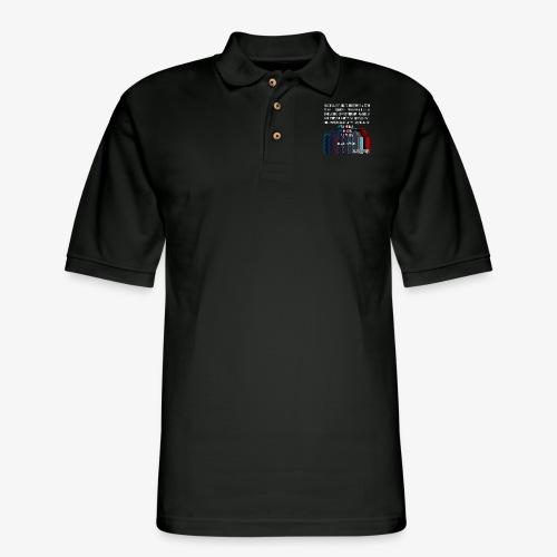 ERROR Lyrics - Men's Pique Polo Shirt