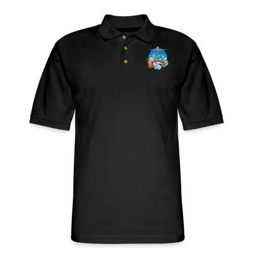 Holiday t-shirt - Men's Pique Polo Shirt