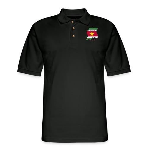 AMARU - La Casa De AMARU - Men's Pique Polo Shirt