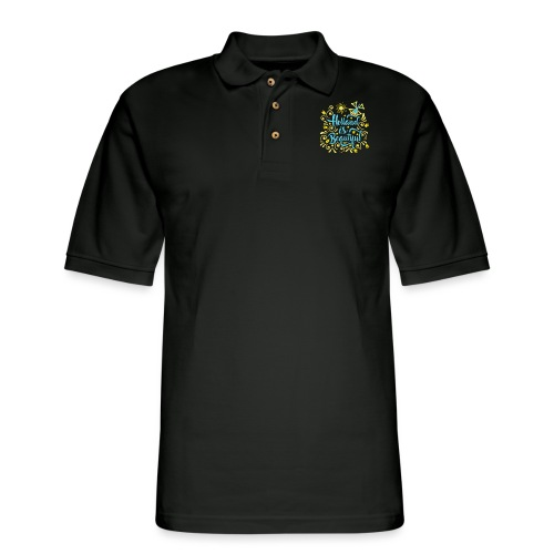 Holland is Beautiful - Men's Pique Polo Shirt