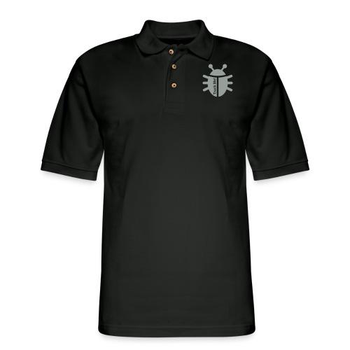 Tracking Bug - Men's Pique Polo Shirt