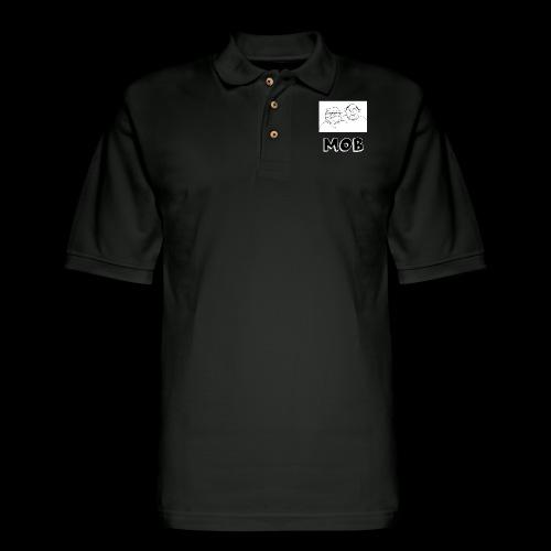 MOB Logo - Men's Pique Polo Shirt