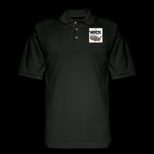 Eye Rock the 2nd design - Men's Pique Polo Shirt