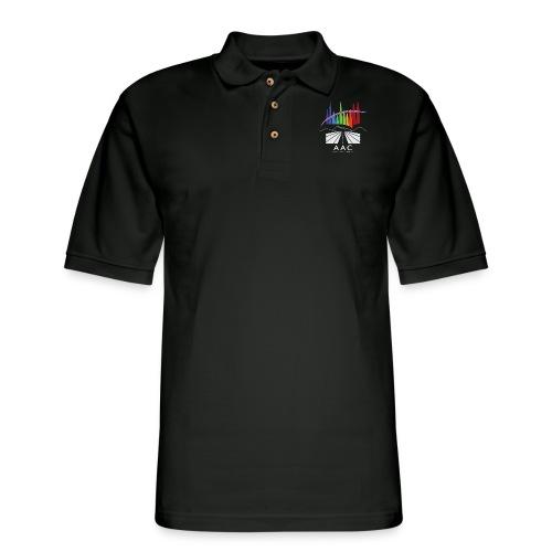 Alberta Aurora Chasers - Men's T-Shirt - Men's Pique Polo Shirt