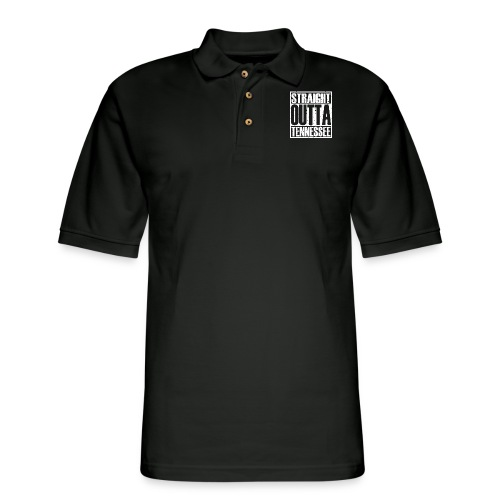 Straight Outta Tennessee - Men's Pique Polo Shirt