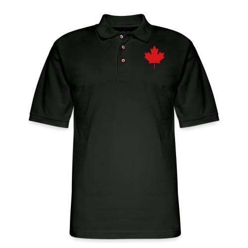Maple Leaf - Men's Pique Polo Shirt