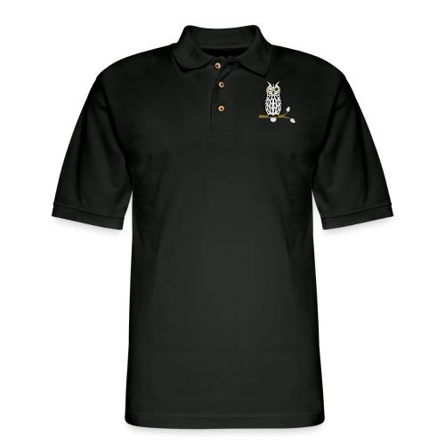 Winky Owl - Men's Pique Polo Shirt