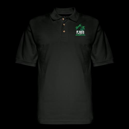 Data Environmentalist - Men's Pique Polo Shirt