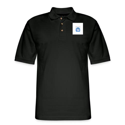 OdogVlogsTv Offical Logo - Men's Pique Polo Shirt