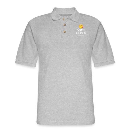 Sending Love - Men's Pique Polo Shirt