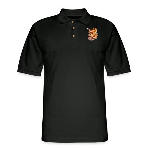 Skull & Refugees - Men's Pique Polo Shirt