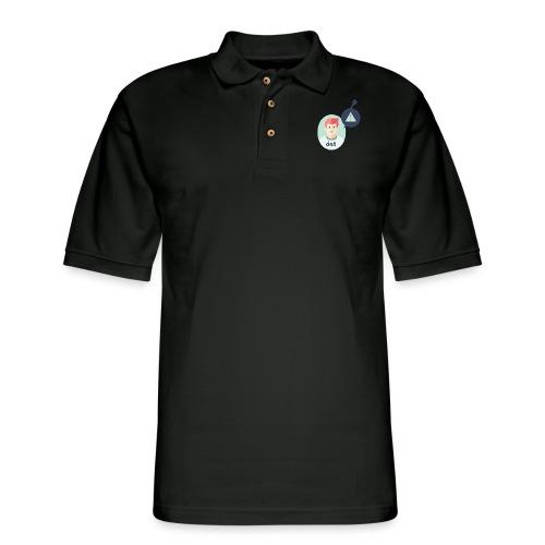 the Adam - Men's Pique Polo Shirt