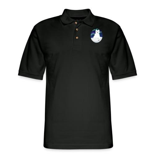 Arctic Aurora - Men's Pique Polo Shirt