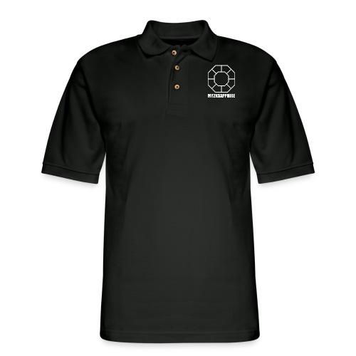 Unisex White Sapphire Hoodie - Men's Pique Polo Shirt