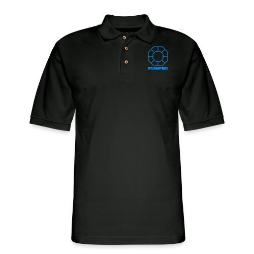 Unisex Blue Sapphire Hoodie - Men's Pique Polo Shirt