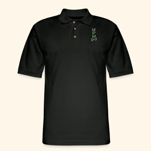 LGLG #9 - Men's Pique Polo Shirt