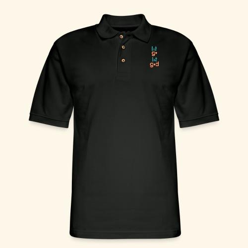 LGLG #8 - Men's Pique Polo Shirt