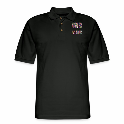 United Unity Togetherness Cooperation Stand Wisdom - Men's Pique Polo Shirt