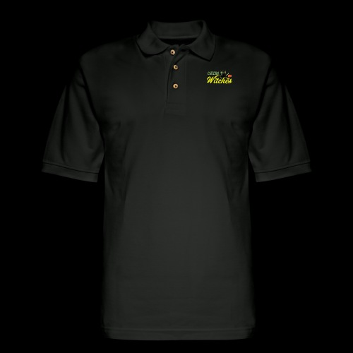 Cheers Witches! | Halloween Drinks - Men's Pique Polo Shirt