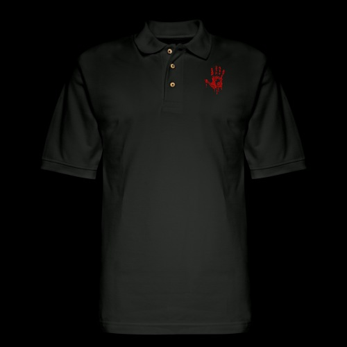 The Haunted Hand Of Zombies - Men's Pique Polo Shirt