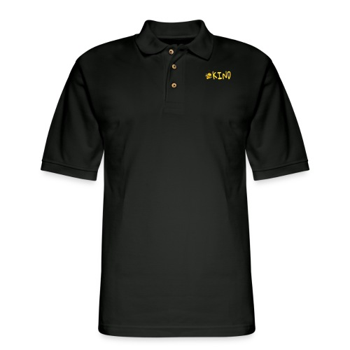 Be Kind - Adorable bumble bee kind design - Men's Pique Polo Shirt