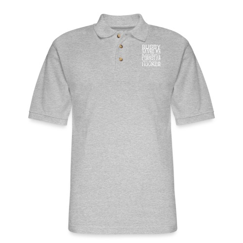 Rugby Im Just A Hooker - Men's Pique Polo Shirt