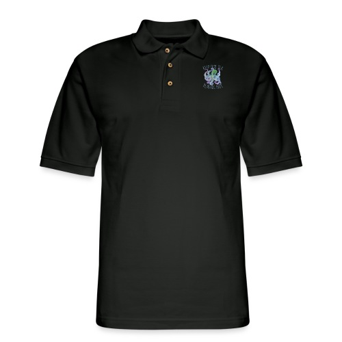Keep our sea Plastic Free - Men's Pique Polo Shirt