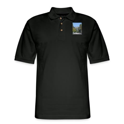 RockoWood Sign - Men's Pique Polo Shirt