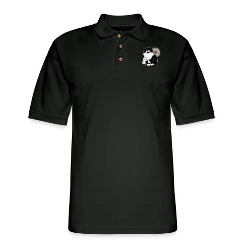 Little Tux Kitten-Daisy - Men's Pique Polo Shirt