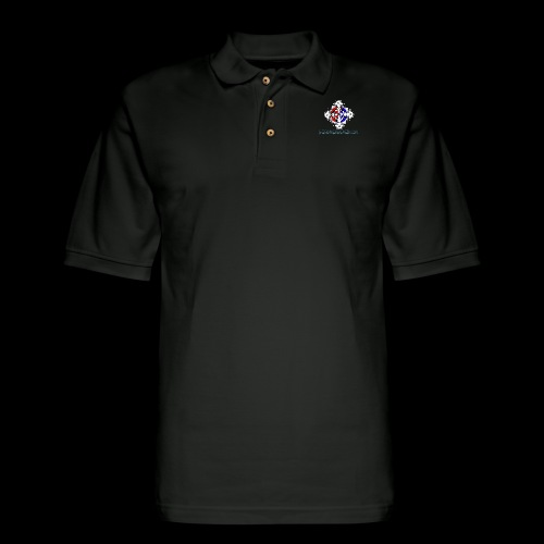 Deadhead art - Men's Pique Polo Shirt