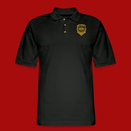 BloodShot ARMY Logo - Men's Pique Polo Shirt
