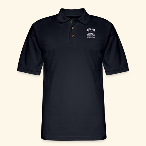 I HAVE THE BEST WIFE IN THE WORLD - Men's Pique Polo Shirt
