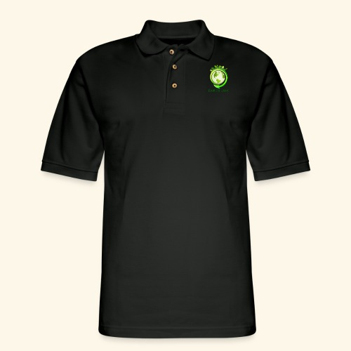 Happy Earth day - 2 - Men's Pique Polo Shirt
