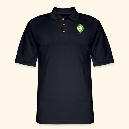 Happy Earth day - 2 - Men's Pique Polo Shirt