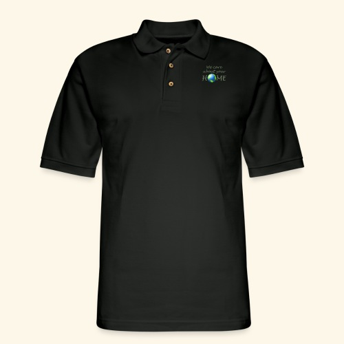 Happy Earth day - Men's Pique Polo Shirt