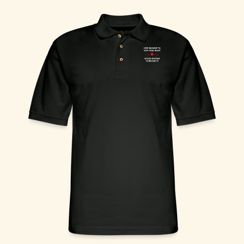 I am a nurse - 2 - Men's Pique Polo Shirt