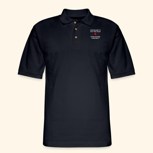 I am a nurse - 2 - Men's Pique Polo Shirt