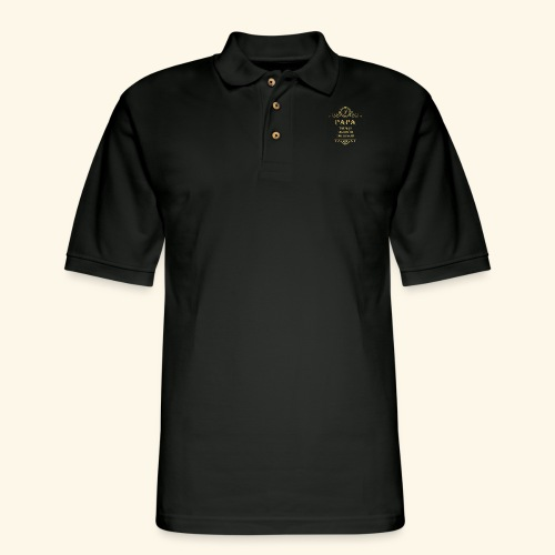 Papa the man the myth the legend - 2 - Men's Pique Polo Shirt