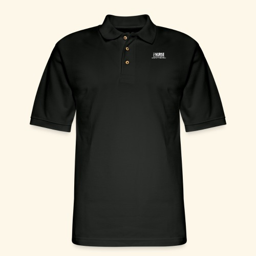 I am a nurse - Men's Pique Polo Shirt