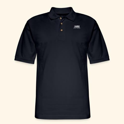 I am a nurse - Men's Pique Polo Shirt