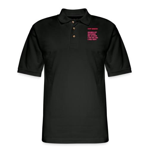 FAKE EMPLOYEE - Men's Pique Polo Shirt