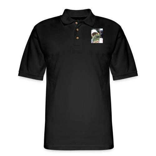 lettucejuuice money - Men's Pique Polo Shirt